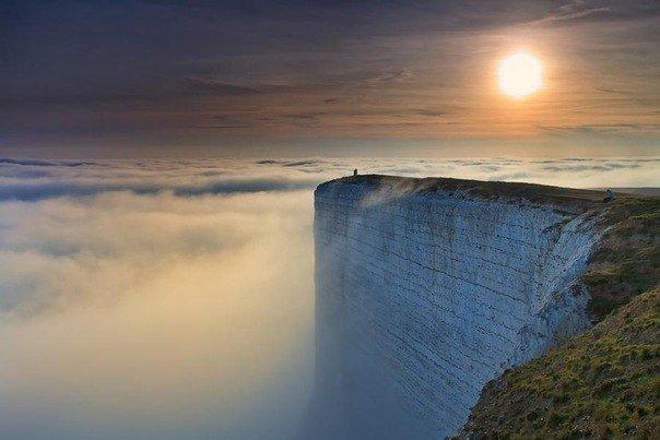 Фото мыс Бичи-Хед. Великобритания, Юг-Даунс-уэй,