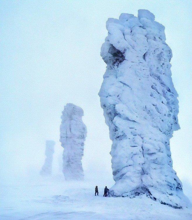 Фото Мань-Пупу-Нёр зимой. Россия, 169437