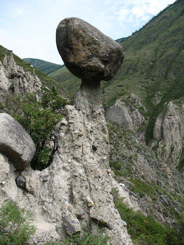 Фото Каменный грибочек. Россия, Алтай Републиц