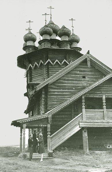 Фото Церковь Покрова Богородицы. Россия, Карелия республика, Unnamed Road