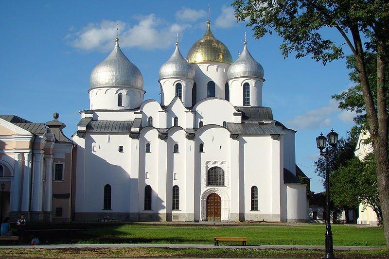 Фото Софийский собор. Россия, Новгородская область, город Великий Новгород