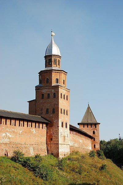 Фото Башня Кокуй. Россия, Новгородская область, город Великий Новгород