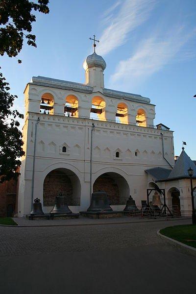 Фото Софийская звонница. Россия, Новгородская область, город Великий Новгород