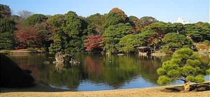 Фото сады Рикуген. Япония, Токио, Бункё