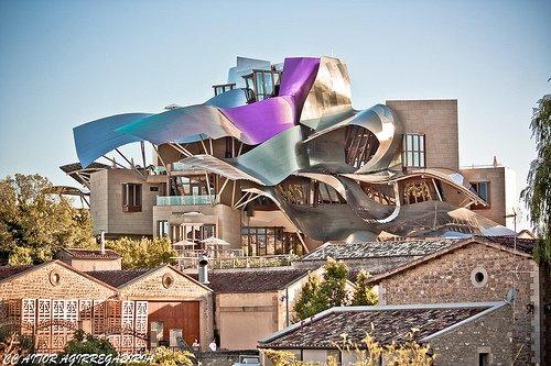 Фото Marques de Riscal. Испания, Страна Басков, Эльсьего, Barrihuelo Kalea, 124