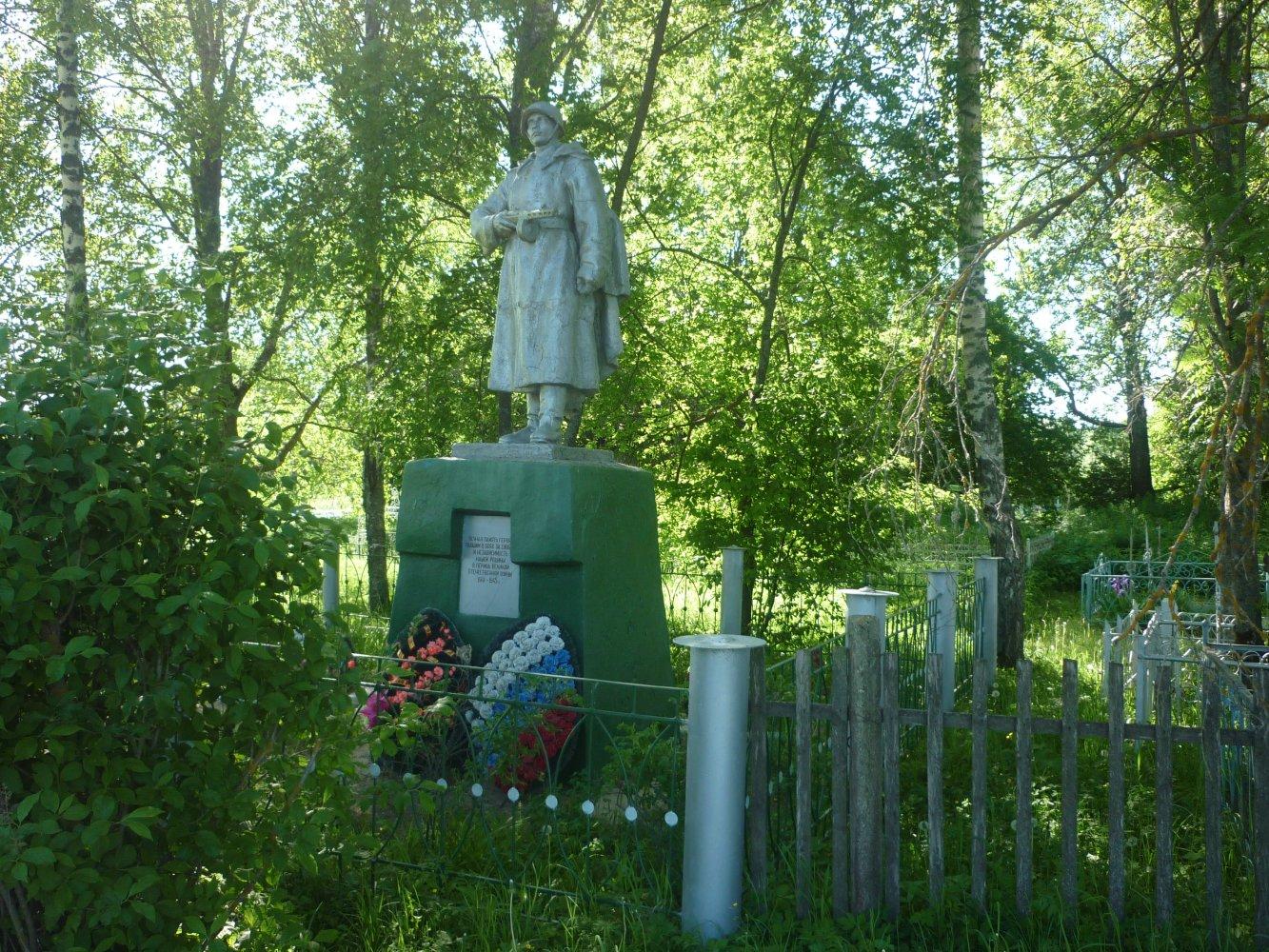 Фото воинское захоронение 2147 бойцов. Россия, Тверская область, Unnamed Road