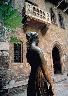 Фото Статуя Джульетты. Италия, Венето, Верона, Via Cappello, 17