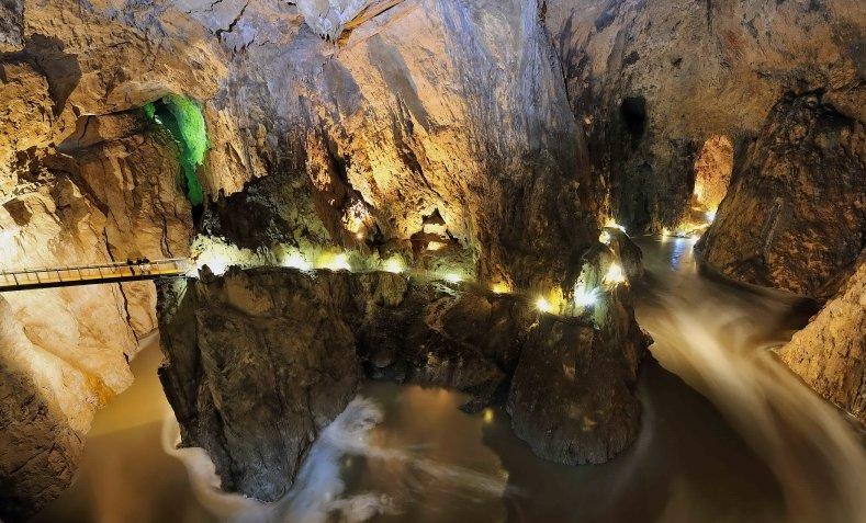 Шкоцанские пещеры словения фото Недлинные