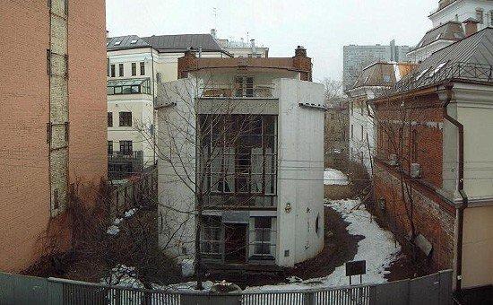 Фото дом Мельникова. Россия, город Москва, Кривоарбатский переулок, 6