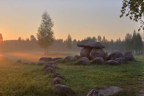 Фото Парк камней. Беларусь, Минская область, Минск, Первомайский район, улица Академика Купревича