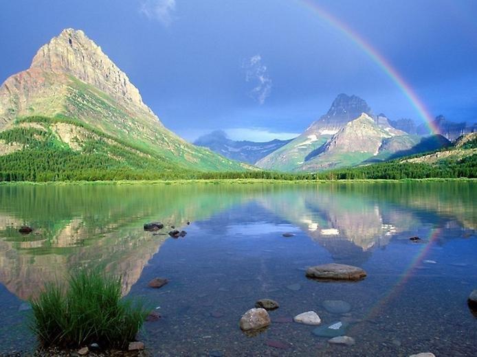 Фото Национальный парк Глейшер. Соединенные Штаты Америки, Монтана, Запад Глейшер, Гоинг-Ту--Сан-роуд