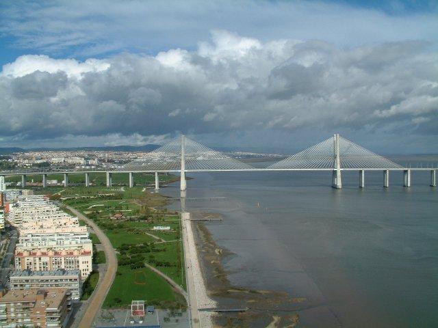 Фото Мост Васко де Гама. Португалия, Ponte Vasco da Gama,