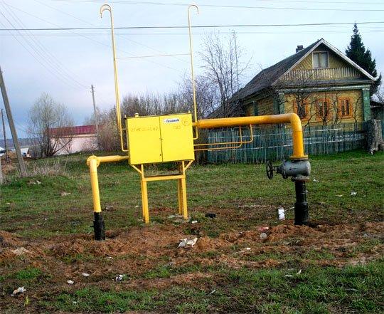 Фото Газ в Лизуново. Россия, Владимирская область, Московское Большое кольцо