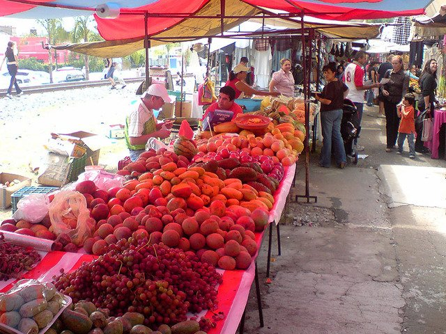 Фото Розовый рынок. Мексика, Федеральный округ, Мехико, Gustavo A. Madero, Avenida 604