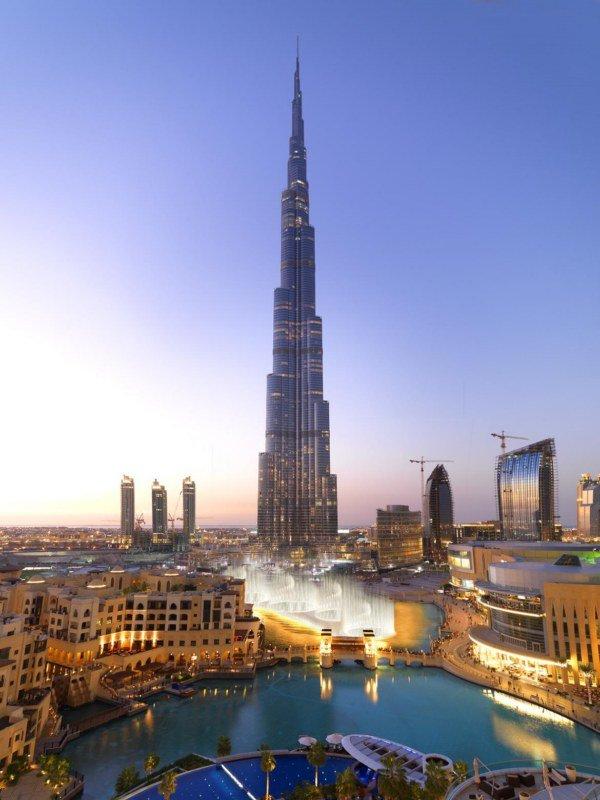 Фото Бурдж-Халифа. Объединенные Арабские Эмираты, Dubai, Sheikh Mohammed bin Rashid Boulevard