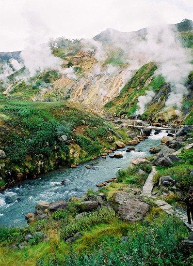 Фото Долина гейзеров. Россия, Камчатский край