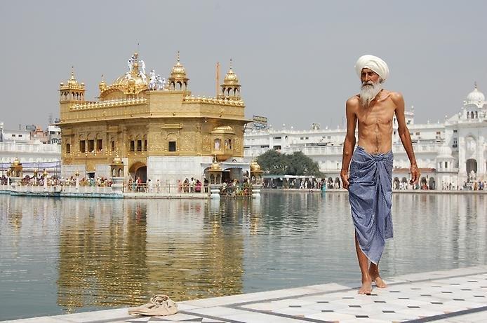 Фото Хармандир-Сахиб. Индия, Пенджаб, Амритсар, Голден-Темпл-роуд