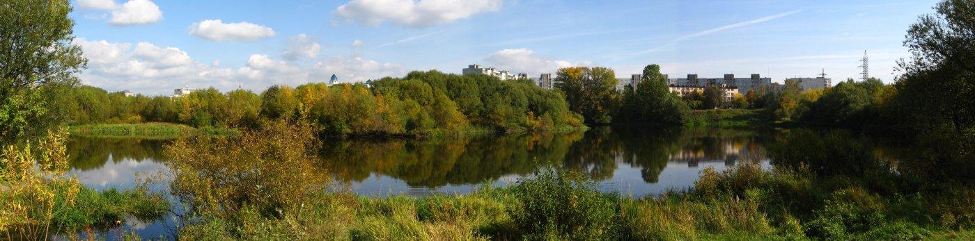 Фото Вид на реку. Россия, Тверская область, Тверь, проспект Чайковского, 1