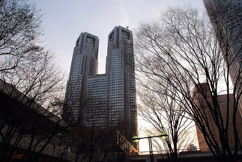 Фото Мэрия Токио. Япония, Tokyo-to, Shinjuku-ku