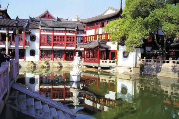 Фото Сад Юй Юань. Китай, Shanghai Shi, Шанхай, Ren Min Lu