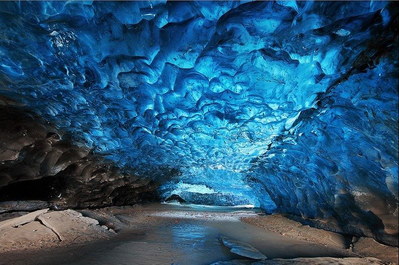 Фото Ледяные пещеры Скафтафелл. Исландия, Svartifoss Trail,